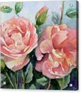 Warm Summer Glow Acrylic Print by Bobbi Price