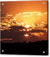 Warm Sunset Acrylic Print