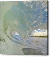 Warm Waves Acrylic Print