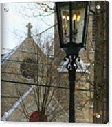 Warm Winter's Light Acrylic Print