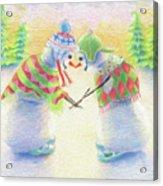 Warm Wishes Acrylic Print