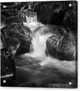 Warme Bode, Harz - Monochrome Version Acrylic Print