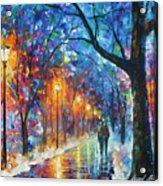 Warmed By Love Acrylic Print