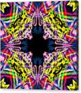 Warp Flower Acrylic Print