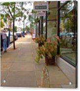 Warren Street 2 Acrylic Print