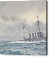 Warrior After The Battle Of Jutland Acrylic Print