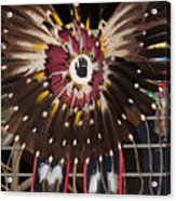 Warrior Feathers Acrylic Print