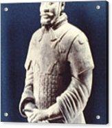 Warrior Of The Terracotta Army Acrylic Print