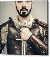 Warrior With Sword Acrylic Print