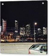 Warsaw At Night Acrylic Print