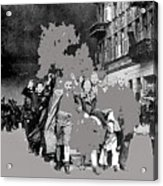 Warsaw Ghetto Uprising Number 1 1943 Color Added 2016 Acrylic Print