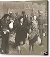 Warsaw Ghetto Uprising Number 2 1943 Color Added 2016 Acrylic Print