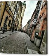Warsaw, The Old Town Acrylic Print