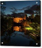 Warwick Castle At Night Acrylic Print