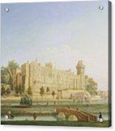 Warwick Castle Acrylic Print by Francis Harding