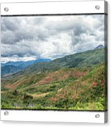 Wasatch Mountains Acrylic Print