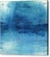 Wash Away- Abstract Art By Linda Woods Acrylic Print