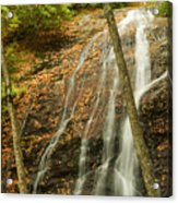 Wash Hollow Falls Nantahala National Forest Nc Acrylic Print