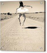 Washboard Ballet Acrylic Print