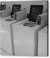 Washers Acrylic Print