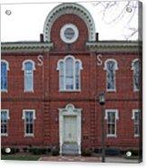 Washington And Franklin Hall Acrylic Print
