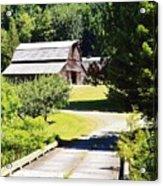 Washington Country Barn Acrylic Print
