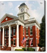 Washington County Courthouse Acrylic Print by Kristin Elmquist