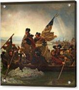 Washington Crossing The Delaware Acrylic Print