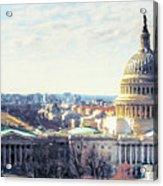 Washington Dc Building 9i8 Acrylic Print
