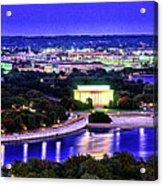 Washington Dc Dusk Acrylic Print