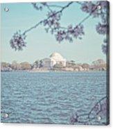 Washington Dc In Spring Acrylic Print