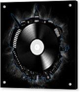 Washington Dc Skyline Vinyl 10 Acrylic Print