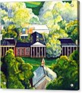 Washington Hall At Washington And Lee University Acrylic Print