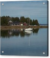 Washington Island Harbor 3 Acrylic Print