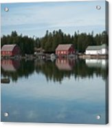 Washington Island Harbor 5 Acrylic Print