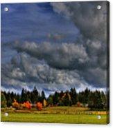Washington Landscape Acrylic Print