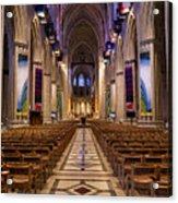 Washington National Cathedral Interior Acrylic Print
