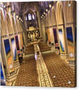 Washington National Cathedral Iv Acrylic Print
