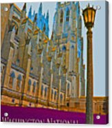 Washington National Cathedral Travel Acrylic Print