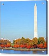 Washington On A Autumn Day Acrylic Print