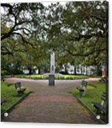 Washington Park, Charleston, Sc Acrylic Print