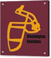 Washington Redskins Retro Acrylic Print