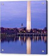 Washington Refelection Acrylic Print
