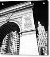Washington Square Arch Acrylic Print