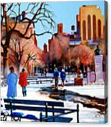 Washington Square Acrylic Print