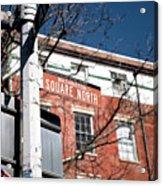 Washington Square North Acrylic Print