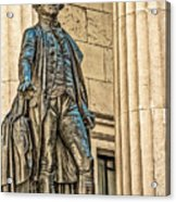 Washington Statue - Federal Hall  #1 Acrylic Print