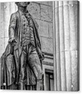 Washington Statue - Federal Hall #3 Acrylic Print