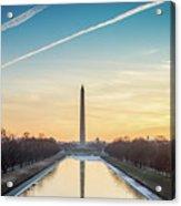 Washington Sunrise Acrylic Print