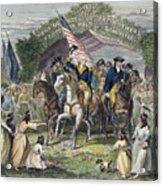 Washington: Trenton, 1789 Acrylic Print